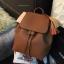 กระเป่า ZARA Detail Backpack สีน้ำตาล thumbnail 6