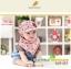Set หมวกเด็กอ่อน+ผ้ากันเปื้อนสามเหลี่ยม Yummy Vegetable วัย 3-24 เดือน thumbnail 9