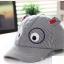 หมวกแคปเด็กอ่อน ปักรูปหน้าสัตว์ มีหูตั้ง น่ารัก ขนาด 6-18 เดือน thumbnail 6