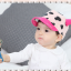 HT321••หมวกเด็ก•• / หมวกแก็ป-ลายวัว (สีชมพูอ่อน) thumbnail 3