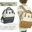 กระเป๋าเป้ Anello Polyester Canvas Rucksack Classic สีขาว- วัสดุผ้าแคนวาสอย่างดี รุ่นคลาสสิกพิเศษมีซิปด้านหลัง thumbnail 7