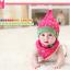 AP070••เซตหมวก+ผ้ากันเปื้อน•• / [สีชมพู] ดวงดาว thumbnail 2
