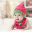 AP070••เซตหมวก+ผ้ากันเปื้อน•• / [สีชมพู] ดวงดาว thumbnail 4