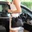 กระเป่า David Jones Bucket Leather Size L (bag) กระเป๋าสะพายข้างดีไซน์เกร๋มาก สีดำสวยมาก chic thumbnail 9