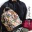 Anello x Legato Largo Botanical & Cat nylon Cap fasteners Backpack mini thumbnail 12