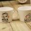 แก้วคู่นมวัวหูจับ ชุด I LOVE MILK <พร้อมส่ง> thumbnail 4