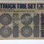 TRUCK TIRE SET (36mm) thumbnail 1
