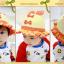 HT478••หมวกเด็ก•• / หมวกปีกกว้าง-โบว์คู่ (สีส้ม) thumbnail 5