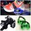 ล้อสเก็ตสวมรองเท้า Flashing Roller ล้อมีไฟ LED ปรับขนาดได้ตามวัย thumbnail 1
