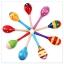 เครื่องดนตรี ลูกแซกไม้หลากสี ขนาดกลาง 20 ซม. thumbnail 1