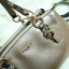 Coach F55515 MINI CHRISTIE CARRYALL IN METALLIC LEATHER WITH EXOTIC TRIM แท้ thumbnail 2