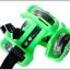 ล้อสเก็ตสวมรองเท้า Flashing Roller ล้อมีไฟ LED ปรับขนาดได้ตามวัย thumbnail 14