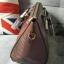 กระเป๋าหนัง สุดคลาสิค ทรงสุดหรู New Collection ยี่ห้อ MANGO TOUCH แท้ กระเป๋านำเข้า รุ่น Croc Tote Bag พร้อมส่ง ที่ไทย ออกแบบหนังด้วยลายหนังแท้ ด้วยดีไซน์ 2 อย่างถี่และห่าง ทรงตั้งสง่า แข็ง ไม่ยุบแบนเวลาวาง แต่งให้หรู ด้วยอะไหล่ทอง ทั้งใบ thumbnail 5