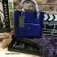 กระเป๋า PEDRO Mini Contrust Flap สีน้ำเงิน ราคา 1,390 บาท Free Ems thumbnail 1