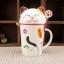 แก้วเซรามิคแมวกวัก <พร้อมส่ง> thumbnail 14