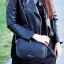 กระเป๋าสะพายข้าง MANGO TOUCH รุ่น tassel quited pattern bag สีดำ ส่งฟรี thumbnail 1