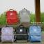 กระเป๋าเป้ ANELLO X PAGEBOY- LOCAL BRAND วัสดุ Polyester canvas สลับหนังกลับ ปากกระเป๋าเปิดปิดด้วยซิปคู่ thumbnail 4