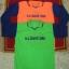 เสื้อคอปกวี ผ้าปีเก้ (ตัดต่อสี) แขนยาว thumbnail 3
