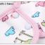 ผ้าซับน้ำลายเด็ก ผ้ากันเปื้อนเด็กเล็ก แบบ 360 องศา ปลายหยักโค้ง - ยี่ห้อ Mom's care / ลาย Zebra thumbnail 4