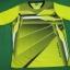 (ยี่ห้อFreekick) ชุดกีฬา ผ้าโพลีเอสเตอร์ แขนสั้น พิมพ์ลาย K114 thumbnail 2