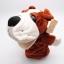 ตุ๊กตามือหมาบลูด็อก หัวใหญ่ ขนนุ่มนิ่ม สวมขยับปากได้ thumbnail 1