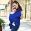 ผ้าอุ้มทารก เป้ผ้าอุ้มเด็ก Moby Wrap เบาสบาย กระจายน้ำหนัก thumbnail 21