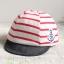 หมวกแก็ปเด็กอ่อน 0-12 เดือน ผ้ายืดเนื้อนิ่ม ลายทหารเรือ thumbnail 4