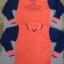 เสื้อคอปกวี ผ้าปีเก้ (ตัดต่อสี) แขนยาว thumbnail 1