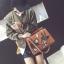 กระเป๋าปัก ลายนก ใบใหญ่ หนังสวยมาก thumbnail 1