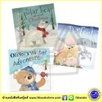 Festive Animal Story 3 Christmas Books Collection : นิทานภาพ ก่อนนอน แนวอบอุ่น 3 เล่ม Make Believe Ideas