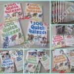 100 Quick Quizzes หนังสือความรู้ผ่านคำถาม สำหรับเด็ก 6-10 ปี