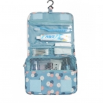 DINIWELL กระเป๋าใส่อุปกรณ์ห้องน้ำ ใส่อุปกรณ์เครื่องสำอาง แขวนได้ สำหรับเดินทาง ท่องเที่ยว พกพาสะดวก ผลิตจากโพลีเอสเตอร์คุณภาพสูง