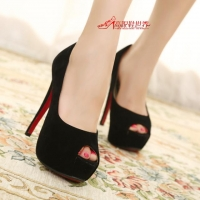 ** ไซส์ 38-44 **รองเท้าส้นสูง ไซส์ใหญ่ สีดำ หนังกำมะหยี่ รองเท้าเกาหลี นำเข้า ของแท้ รองเท้าส้นสูงคุณภาพดีมาก เดินไม่โครงเครง ใส่สบายสุดๆ รุ่นขายดี ยอดนิยม