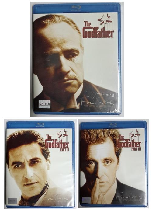 (Blu-Ray) The Godfather Part 1 - 3 (มีพากย์ไทยทุกภาค)