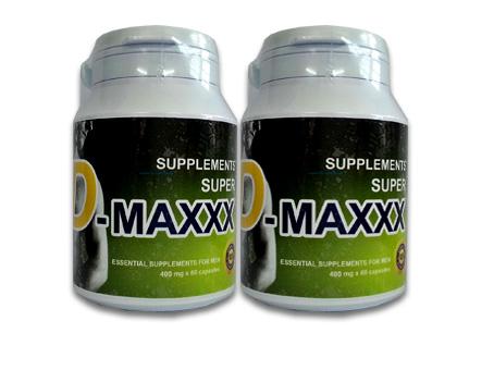 Super D-maxxx จำนวน 2 กล่อง ขนาดบรรจุ 120 แคปซูล