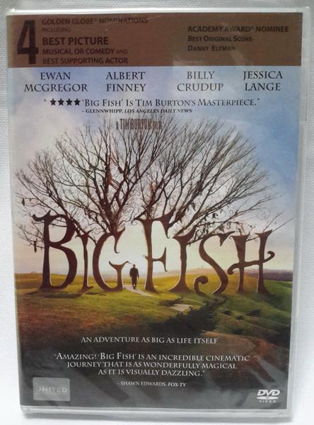 (DVD) Big Fish (2003) จินตนาการรัก ลิขิตชีวิต (มีพากย์ไทย)