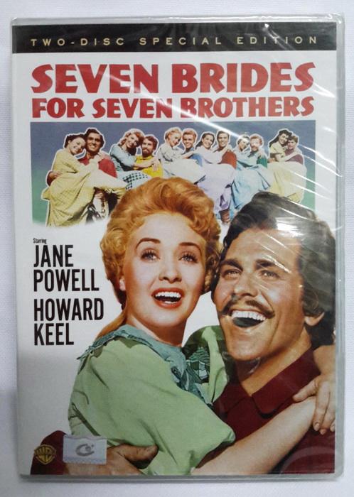 (DVD) Seven Brides for Seven Brothers (1954) 7 คู่ชู้ชื่น (2 Discs)