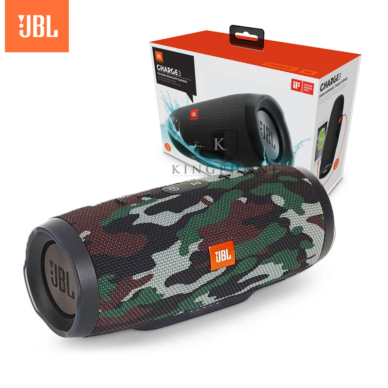JBL CHARGE 3 Portable Bluetooth Speaker สีลายทหาร