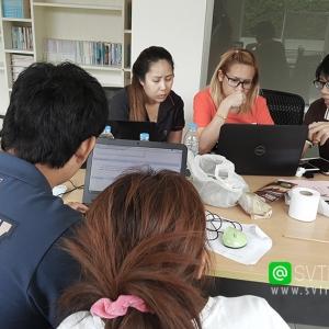 อาจารย์ใบตองและอาจารย์บอลที่ปรึกษาด้านE-Commerce การทำ SEO และสอนการตลาดออนไลน์สำหรับธุรกิจเครื่องสำอางและอาหารเสริม