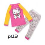 pj13 (สินค้าลดราคา) ชุดนอน Size 2Tผ้ายืดใส่สบาย