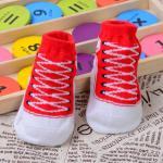 ถุงเท้า สีแดง