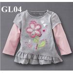 GL04 เสื้อแขนยาว Size 3T 4T ผ้ายืดอย่างดี หนา นิ่ม ยืดหยุ่น เนื้อผ้าดีมาก ใส่สบาย
