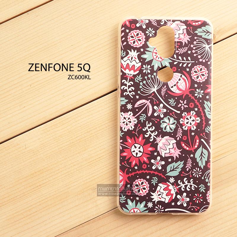 เคส Zenfone 5Q (ZC600KL) เคสนิ่ม TPU พิมพ์ลาย แบบที่ 4