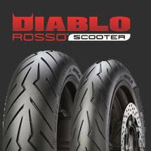 ยาง Pirelli Diablo Scooter 120/70/15 + 150/70/14 Yamaha X-MAX