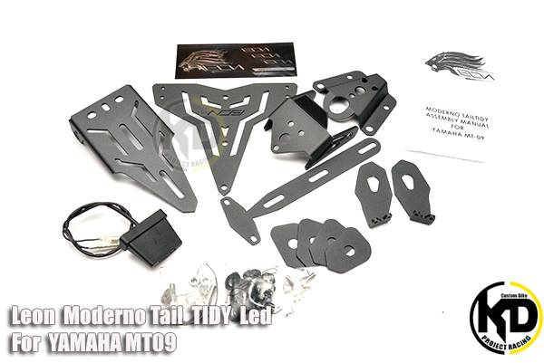 Yamaha MT09 2,250/set ท้ายสั้น Leon Moderno Tail Tidy Led
