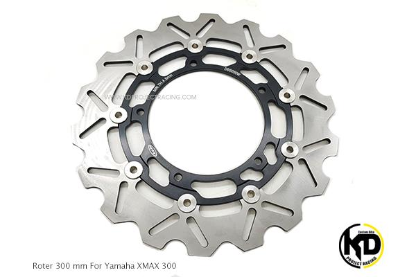 จานดิสหน้า Arashi 300MM Yamaha MT09