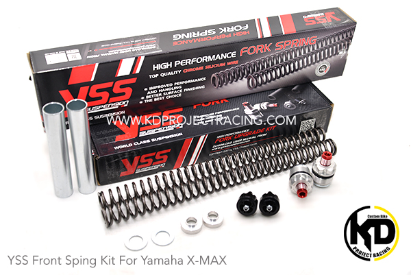 YSS Front Sping Kit For Yamaha X-MAX 300