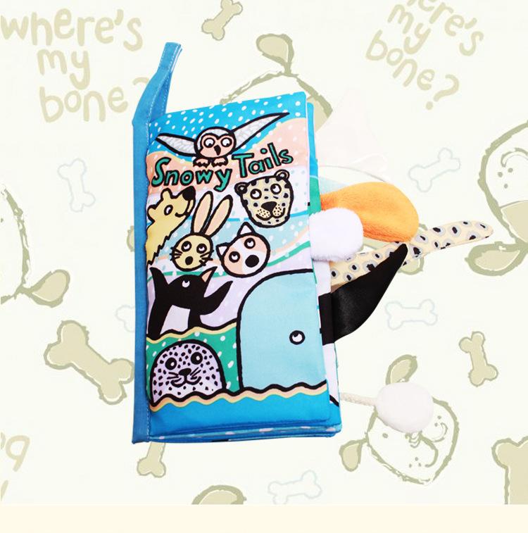 หนังสือผ้า Snowy Tail by Jollybaby