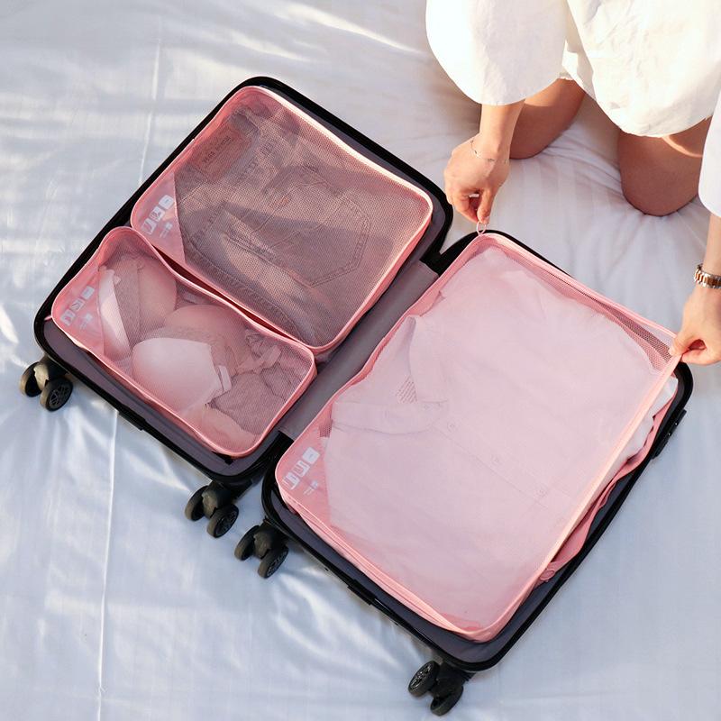 """(ขนาด L) ที่จัดกระเป๋าเดินทาง 3 in 1 ใช้แบบแยก หรือรวมกันได้ สำหรับกระเป๋าเดินทางขนาด 20"""" - 23"""" และ 29"""" - 32"""""""