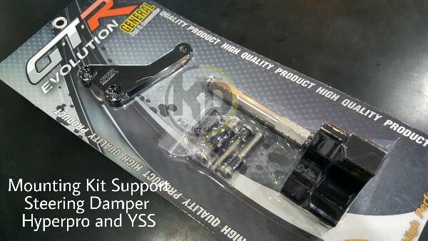MT03 ขากันสบัด GTR Yamaha MT03 Mounting Kit Support Steering Damper Hyperpro and YSS